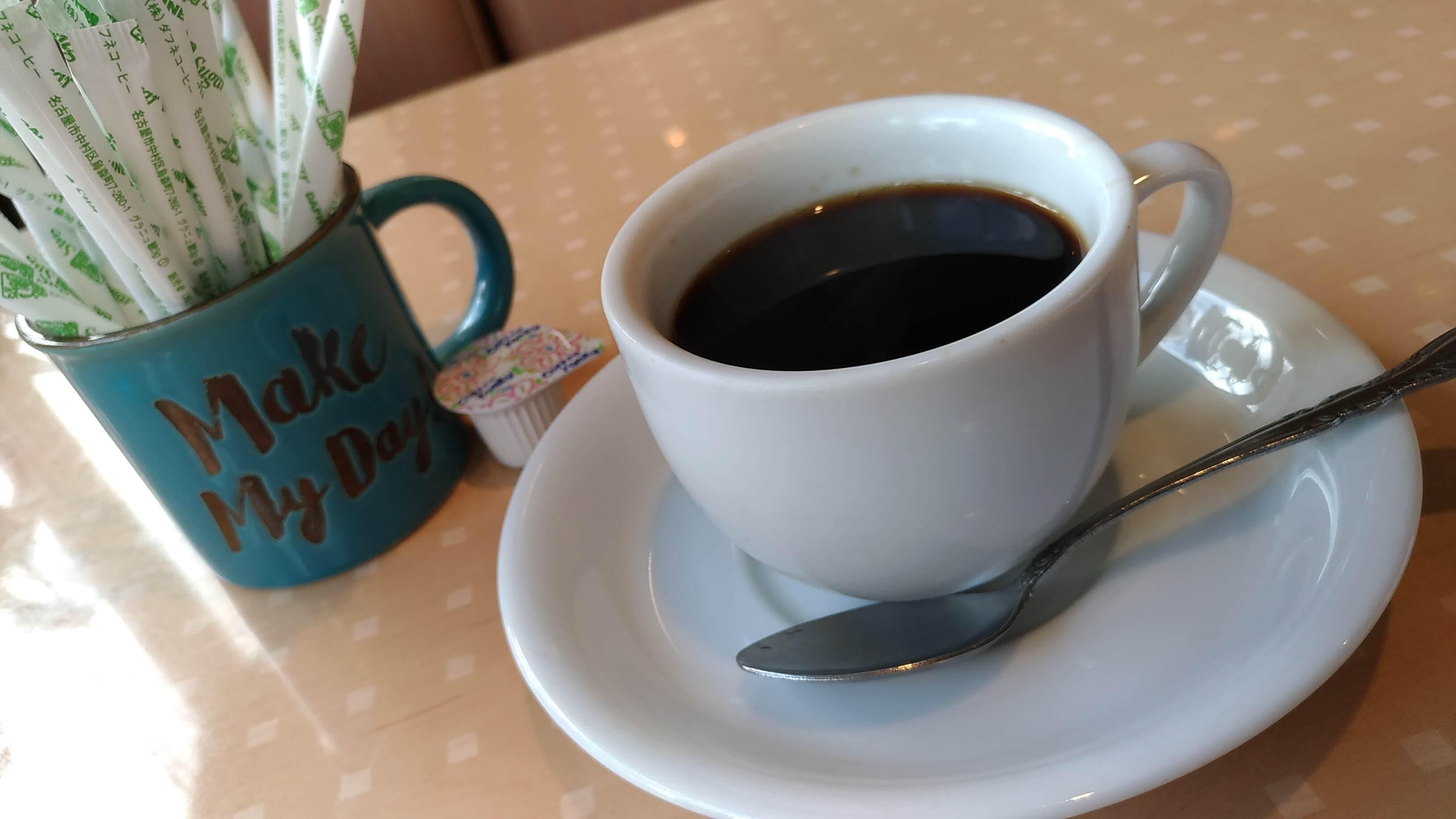 ミントハウス大治店のランチコーヒー