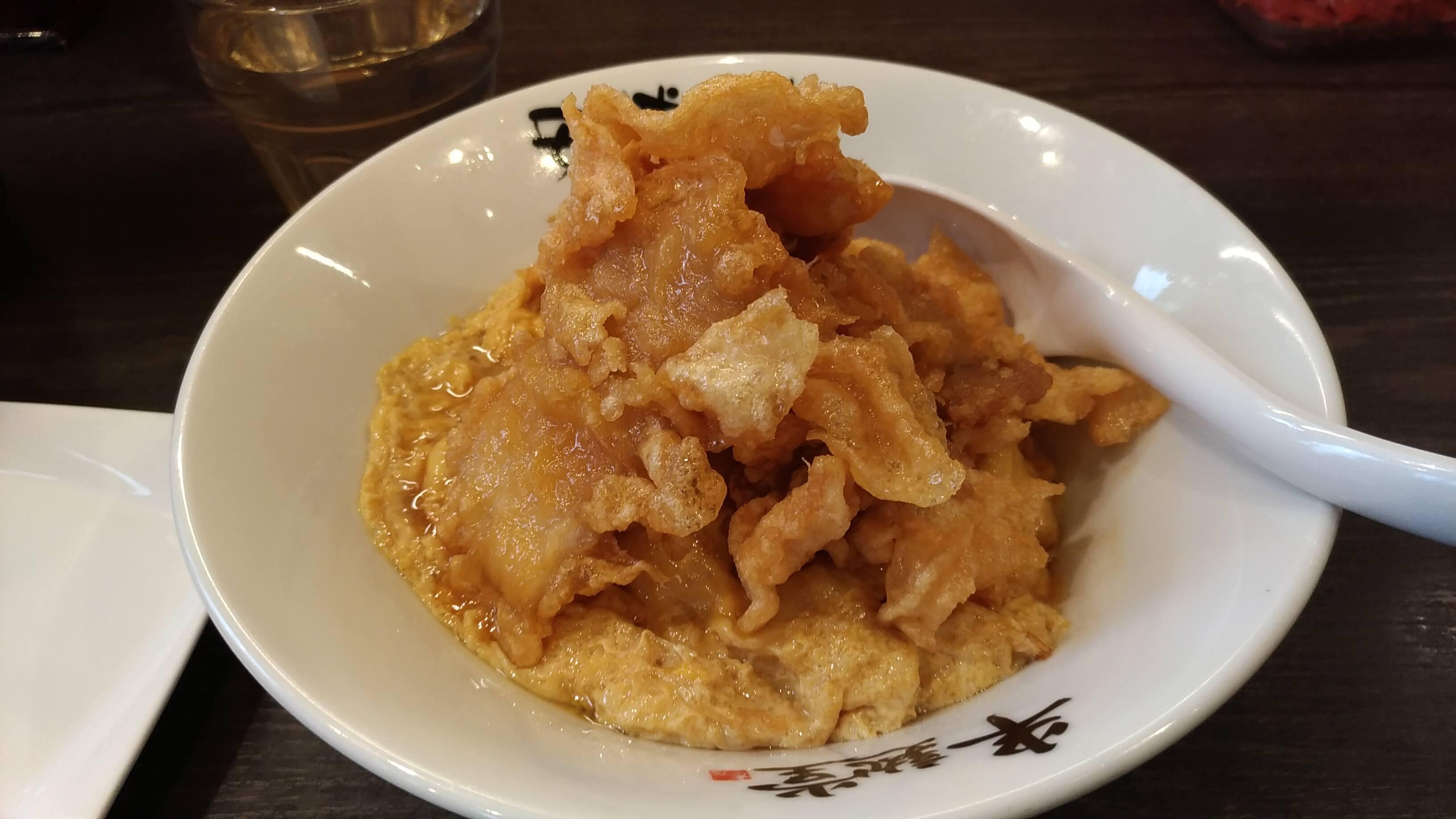 半熟堂の北京飯