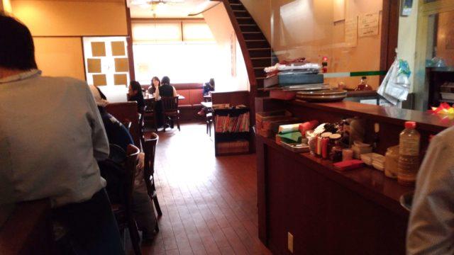 シェフのテーブル席