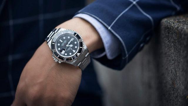 腕時計は見た目が一番分かりやすい